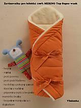 Textil - Zavinovačka pre bábätka/ miminká 100% Merino Top - 7141479_