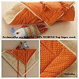 Textil - Zavinovačka pre bábätka/ miminká 100% Merino Top - 7141576_