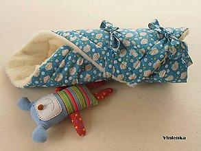 Textil - Zavinovačka pre bábätka/ miminká 100%  Merino Top - 7141373_