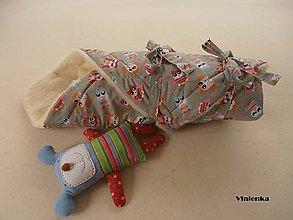 Textil - Zavinovačka pre bábätka/ miminká 100% Merino Top - 7141492_