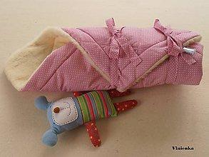 Textil - Zavinovačka pre bábätka 100% Merino Top - 7141537_
