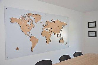 Dekorácie - Mapa SvEtA - 7144052_