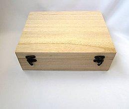 Polotovary - P6/ Krabica na čaj 12 priečinková - 7143977_