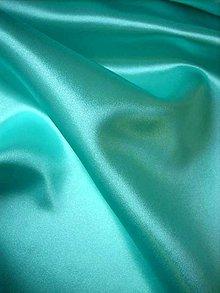 Textil - Satén pevný - mentolový, modrozelený SK147 - 7142773_