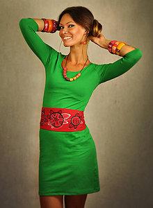 Šaty - Výrazné šaty s doplnkami - Yucatan - 7142333_