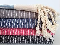 """Úžitkový textil - Fouta """" Sidi Bou"""" - 7143462_"""