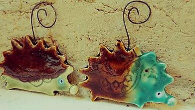 Dekorácie - ozdoba ježko - 7141638_