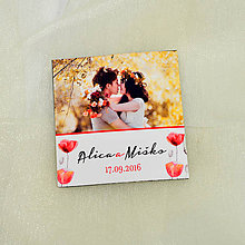 Darčeky pre svadobčanov - Magnetka - darček - 7143524_