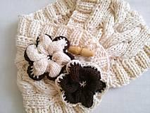 Šály - Vanilka s kúskom čokolády - 7145564_