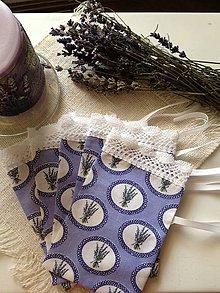Úžitkový textil - Všade samá levanduľa. - 7145880_