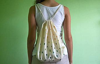 Batohy - plátený batoh _ farebný dážď - 7146076_
