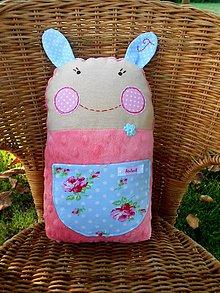 Hračky - Minky poduško - hračka, Tinka - 7144160_