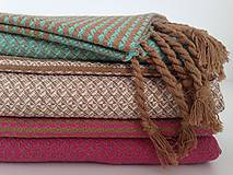Úžitkový textil - Fouta/Uterák « Reťazec» Set 2 ks - 7145722_
