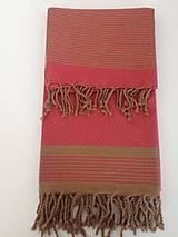 Úžitkový textil - Fouta/Uterák « Reťazec» Set 2 ks - 7145723_