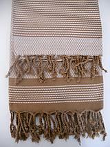 Úžitkový textil - Fouta/Uterák « Reťazec» Set 2 ks - 7145737_