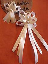 Pierka - Č.5 Svadobné pierka s kvietkom - 7146442_