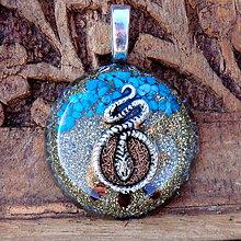 Náhrdelníky - Hadí Energie / amulet odvahy - 7147441_