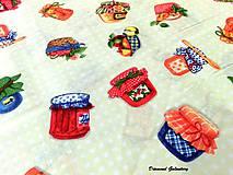Textil - Bavlnená látka - Marmeláda - Cena za 10 - 7147147_