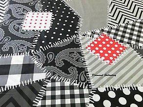 Textil - Bavlnená látka - Patchwork II - Cena za 10 - 7149045_