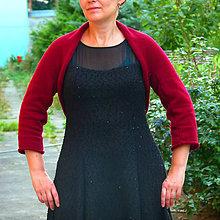 Svetre/Pulóvre - Přes šaty s polodlouhým rukávem - barva na přání - 7149373_