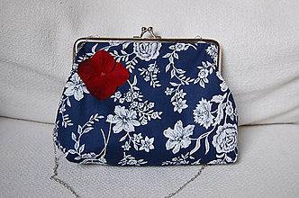 Kabelky - Kabelka s kvetmi - 7148383_