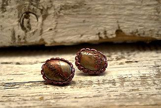 Náušnice - Tajomstvo  lesnej víly - náušnice - 7147975_