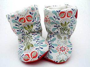 Topánočky - Teplé papučky - 7147432_