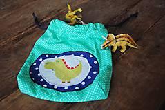 Textil - Vrecúško Dinosaurus - 7148868_