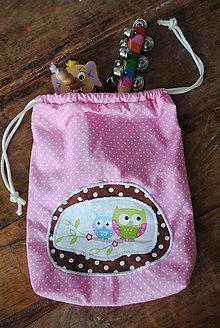 Textil - Vrecúško Sova - 7148968_