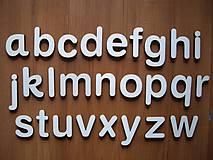 Polotovary - Drevená abeceda - 7148539_