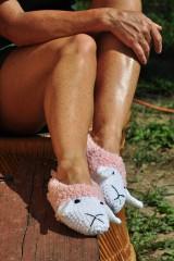 Obuv - Ružové ovečky - 7146578_