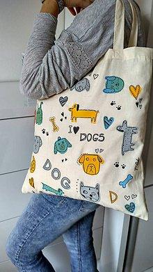 Nákupné tašky - Taška Dog - 7147630_