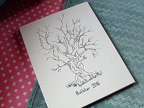 Obrazy - Svadobný strom na mieru - 7152201_