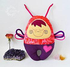 Hračky - Vesmírny chrobáčik púštny - hrkálka - 7151836_