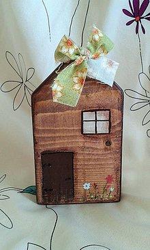 Dekorácie - domček 1 - 7151017_