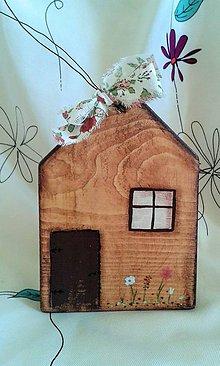 Dekorácie - domček 7 - 7151150_
