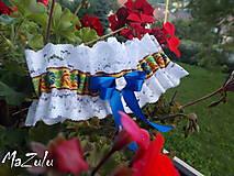 Bielizeň/Plavky - folklórny podväzok V. - 7152862_