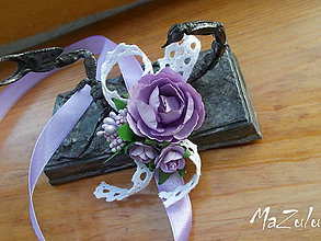 Náramky - svadobné náramky v štýle Vintage II. - 7152793_