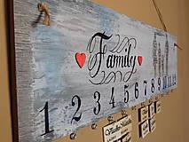 - rodinný kalendár V - 7149644_