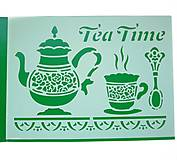 - Šablóna č.13- Tea time- Stamperia - 7151008_