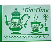 Pomôcky/Nástroje - Šablóna č.13- Tea time- Stamperia - 7151008_