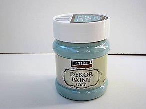 Farby-laky - Dekor Paint Soft - country modrá 230 ml***** - 7151554_