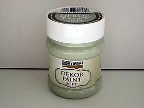 Farby-laky - Dekor Paint Soft- country zelená  230 ml*** - 7151690_
