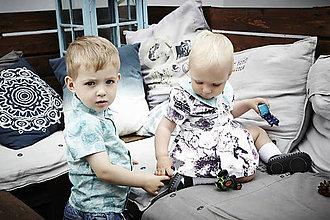 """c938e599e279 Detské oblečenie - Rodinné oblečenie brat a sestra """"Znova si prečítať  Lewisa Carrolla"""" -"""