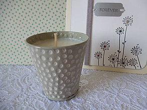 Svietidlá a sviečky - sviečka v plechu - 7151930_