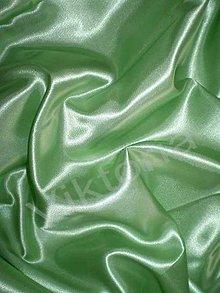 Textil - Satén pevný - mätovo zelený SK241 - 7151848_