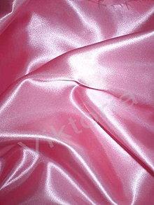 Textil - Satén pevný - ružový SK10 - 7152528_