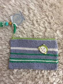 Peňaženky - peňaženka kapsička - 7151326_