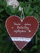 Tabuľky - poteší každú babičku - 7152114_