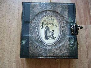 Papiernictvo - Album v starožitnom sťýle - 7150622_